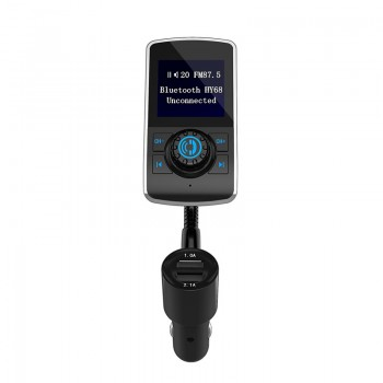 Auto FM modulators, Bluetooth, AUX, 2 x USB, microSD, 12-24V FM modulatori