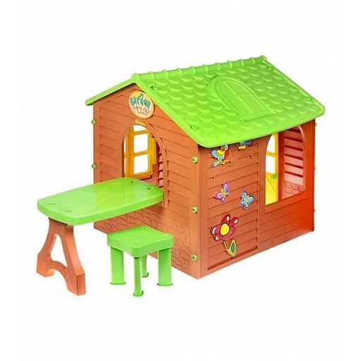 Dārza mājiņas un slidkalniņi