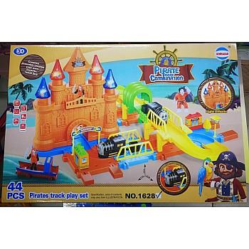 Rotaļu trase Pirāti, 44 el. Attīstošās Rotaļlietas