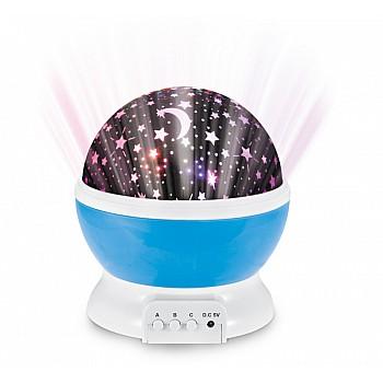 Zvaigžņu projektors un naktslampiņa Miedziņam