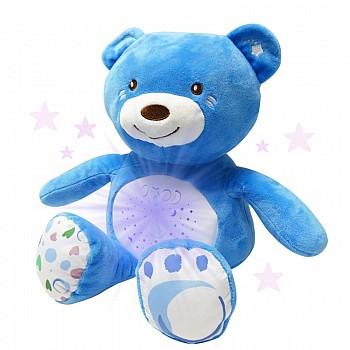 Plīša rotaļu lācis ar gaismiņām un mūziku Mīkstās rotaļlietas ar gaismas un skaņas efektiem