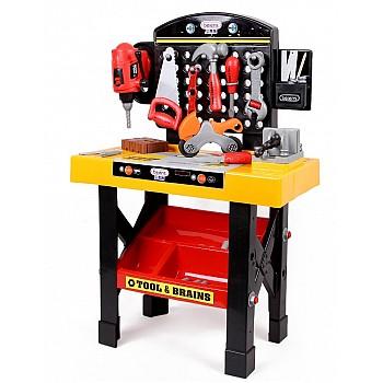 Liels Rotaļu Darbarīku instrumentu komplekts  Rotaļlietas un Preces Bērniem