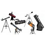 Teleskopi, binokļi, mikroskopi