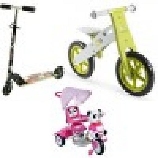 Skrejriteņi, Balansa velosipēdi, Scooteri