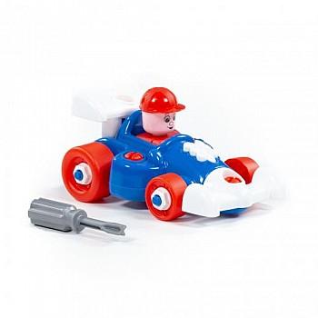 Rotaļu sporta plastmasas mašīna 22 el.  Mini kompakt mašīnas