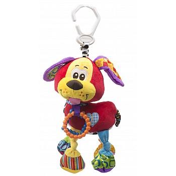 Mīksta rotaļlieta piekariņš suns 35cm Mīkstās rotaļlietas (Dažādi)
