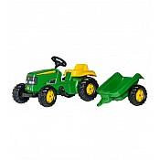 Pedāļu traktori un aksesuāri
