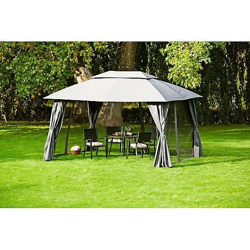Dārza teltis, paviljoni un pārklāji