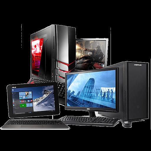 Stacionārie, portatīvie datori un serveri