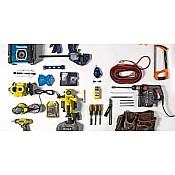 Atslēgas, skrūvgrieži, instrumentu komplekti
