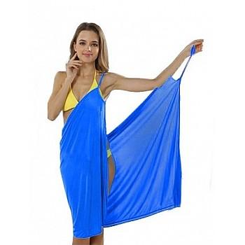 Pludmales kleita BQ29C Blue Kleitas