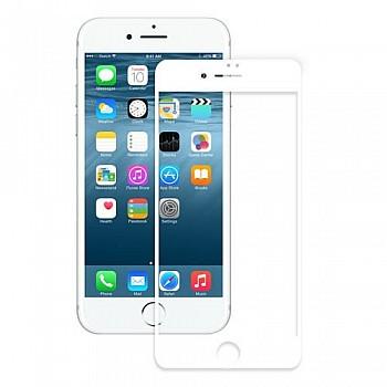 3D Malu Premium Pilna izmēra telefona aizsarg-stikls priekš Apple iPhone 7 Plus (5.5inch) Baltas apmales Mobīlie telefoni, planšetdatori un aksesuāri