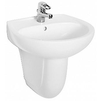 KOLO M11155000   KOLO IDOL vannas istabas izlietne 550 x 420 mm, balta  34504 Vannas istabas izlietnes