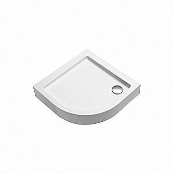 KOLO XBN0691000  Dušas paliktnis SIMPLO 90x90 pusapaļš R550, h-170, ar integrēto paneli  34703 Dušas paliktņi