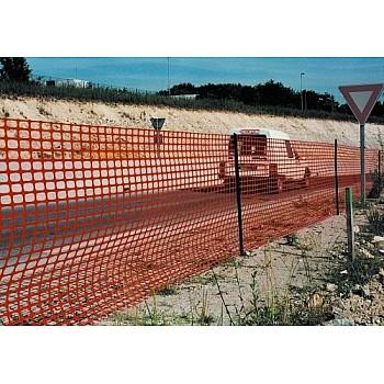 Oranžs nožogojuma aizsargsiets 1,8m x 50m. Tenti