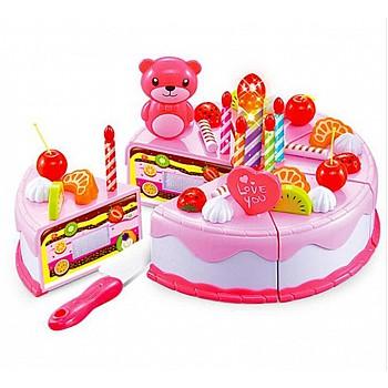 Bērnu rotaļu kūka 38 el. Pink Rotaļlietas un Preces Bērniem