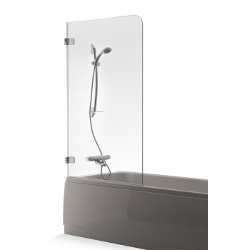 BALTIJOS BRASTA Gaja vannas siena, caurspīdīgs stikls Vannas sienas