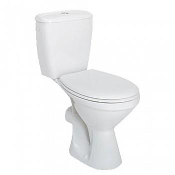 KOLO Idol WC pods ar horizontālu izvadu, tvertne 3/6l ar pievadu no apakšas, mīkstais vāks, 19026000 Tualetes Podi - brīvi stāvošie