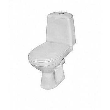 KOLO Solo tualetes WC pods ar skalojamo kasti, ar SoftClose vāku, horizontāls izvads, 3/6L, 79230 Tualetes Podi - brīvi stāvošie