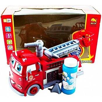 Burbuļu Ūgunsdzēsēja Automašīna Rotaļlietas un Preces Bērniem