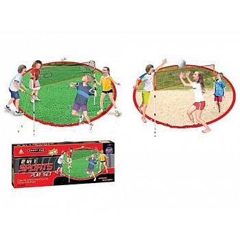 Badmintona un volejbola komplekts bērniem Rotaļlietas un Preces Bērniem