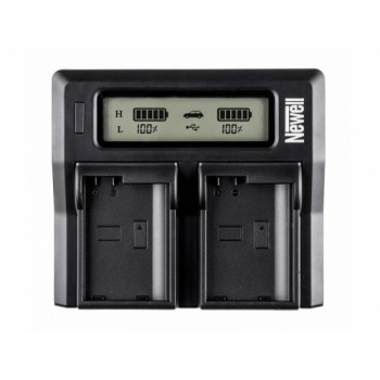 Newell DC-LCD two-channel charger for NP-FZ100 batteries