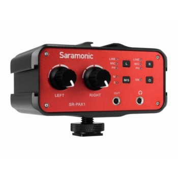 Saramonic SR-PAX1 audio adapter - two-channel