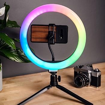 Newell RL10 RGB LED Vlogging Kit with tripod LED lampas