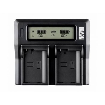 Newell DC-LCD two-channel charger for DMW-BLF19E batteries