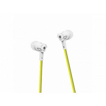 Superbee Headphones with microphone - yellow